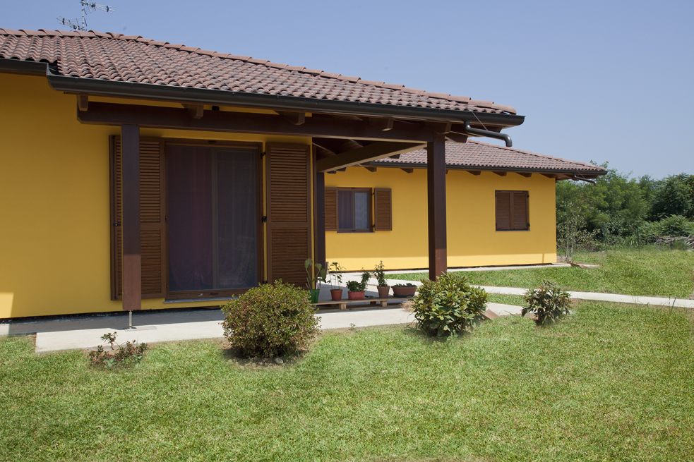 Bioedilizia cuneo villeurop - Foto di case moderne esterni ...